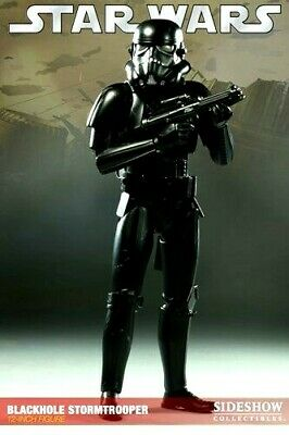 Sideshow Militaries Star Wars 1:6 Blackhole Stormtrooper Store Exclusive Figure