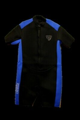 5X Shorty Wetsuit - Front Zip Style - Men's or Taller Women - (5x Wetsuit)