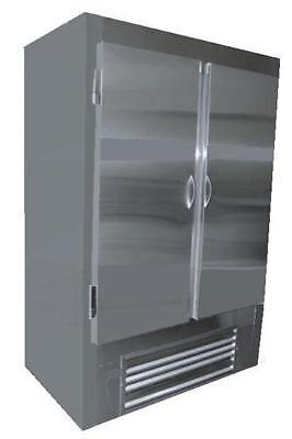 Coolman Commercial Stainless Steel 2-door Reach-in Cooler 48