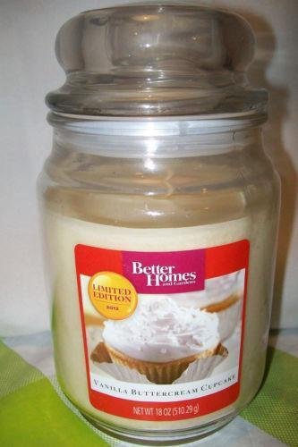 Better Homes And Gardens Candle Ebay