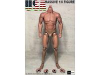 Ganghood 1//6 Scale Muscular Body VERSION 1.0 pour Logan Wolverine Arnold Bane
