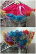 Rainbow Pettiskirt
