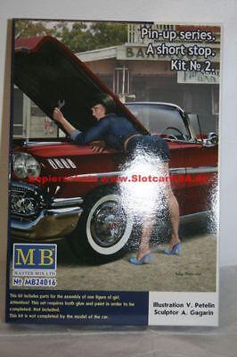 Master Box LTD MB24016 1/24 Pin-up A Short Stop Kit No. 2