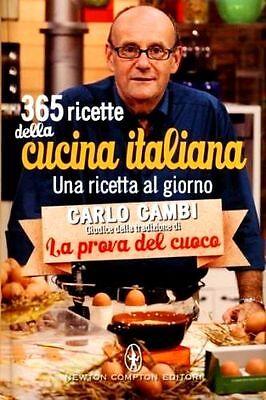 365 ricette della cucina italiana. Una ricetta al giorno- Carlo Campi - Rilegato