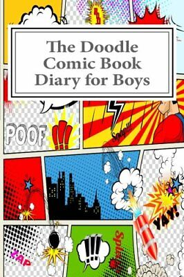 The Doodle Comic Book Diary for Boys (Activity Drawing & Coloring Books) by S…](Coloring Books For Boys)