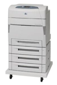This week only HP Color LaserJet 5550DTN  $600