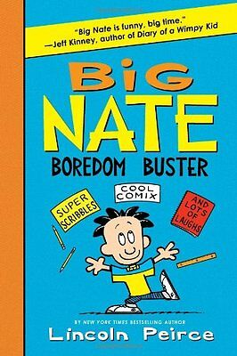 Big Nate Boredom Buster  Super Scribbles  Cool Comix  And Lots Of Laughs  Big Na