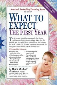 What to Expect: The First Year - Brand New Book
