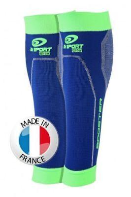 BV Sports Booster ELITE Calf blau/grün Neu! Größe M
