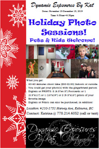 Holiday Special Photography Sessions