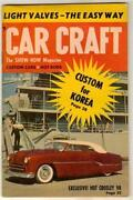 Car Craft Magazine 1954
