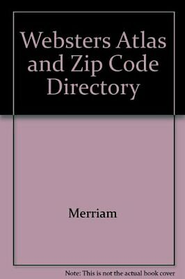 Webster's Atlas and zip code directory for sale  USA