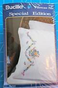 Stamped Embroidery Pillowcases