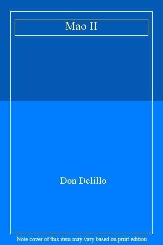 Mao II,Don Delillo