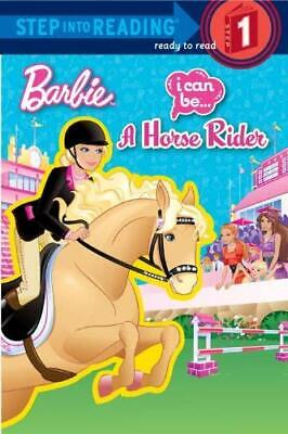 I Can Be a Horse Rider Barbie Paperback Mary Man-Kong