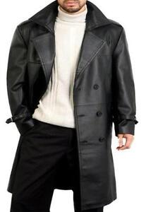 Mens Leather Coat | eBay