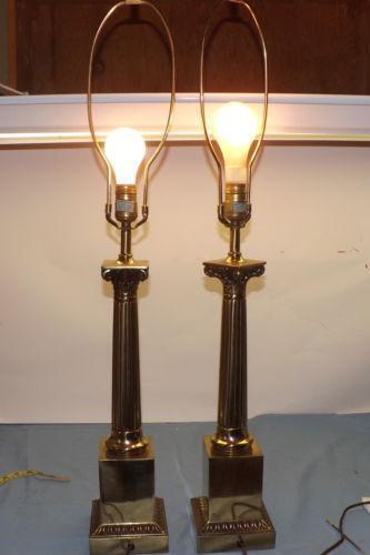 Stiffel Lamp Pair Ebay