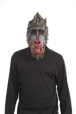 Deluxe Baboon Latex Mask Halloween Costume Accessory](Baboon Costume)