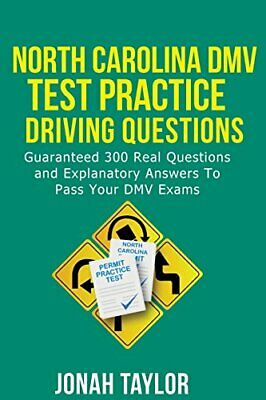 NORTH CAROLINA DMV PERMIT TEST QUESTIONS AND ANSWERS: OVER By Taylor Jonah