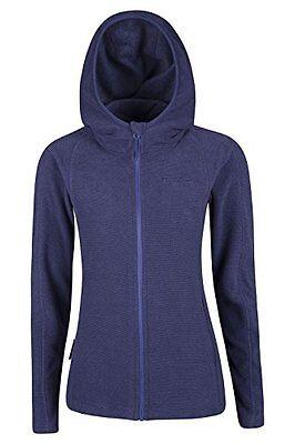 Hebridean Purple Fleece Hoody Size UK 14 Box46 77 E