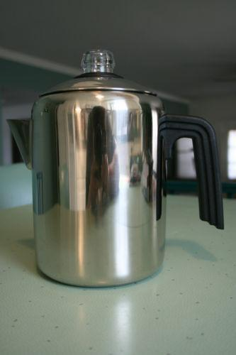 Stove top coffee percolator ebay for Best coffee percolator