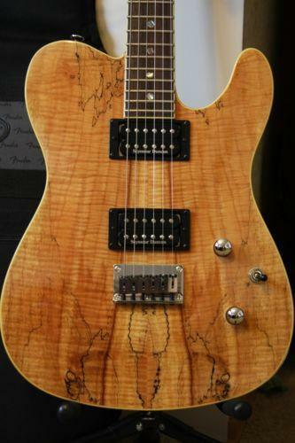 spalted maple guitar ebay. Black Bedroom Furniture Sets. Home Design Ideas