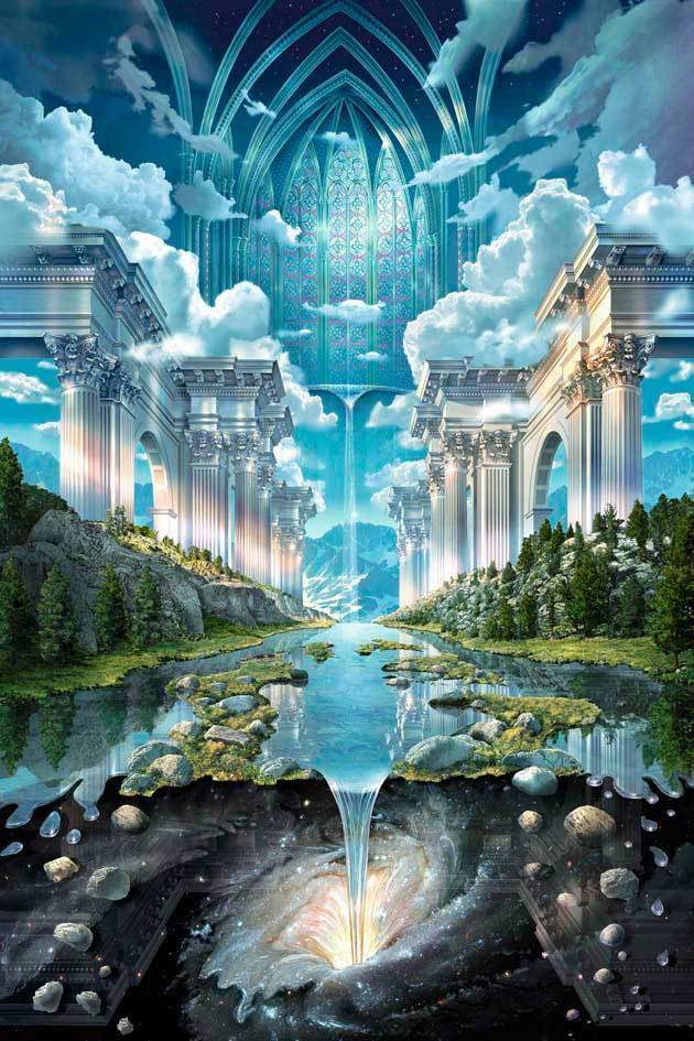 "24"" x 36"" Genesis II Poster by John Stephens new still seale"