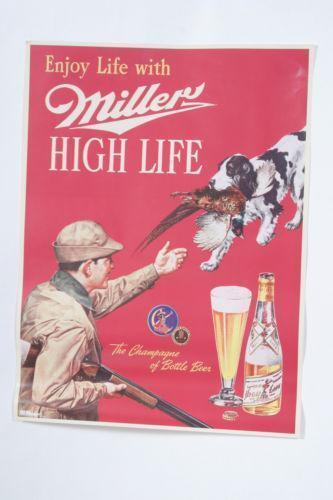 Miller High Life Poster Ebay