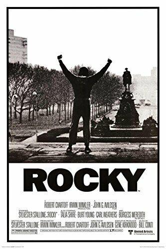 Rocky Black & White Movie Poster 24x36