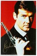 Roger Moore Autogramm