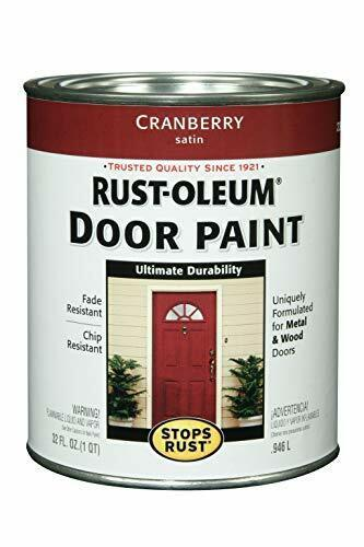 Rust-Oleum, Cranberry, 238314 Door Paint, 1-Quart