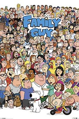 FAMILY GUY - CHARACTER COLLAGE POSTER 24x36 - TV - Character Posters