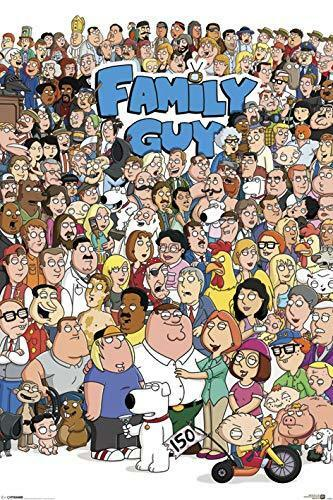 FAMILY GUY - CHARACTER COLLAGE POSTER 24x36 - TV 2623