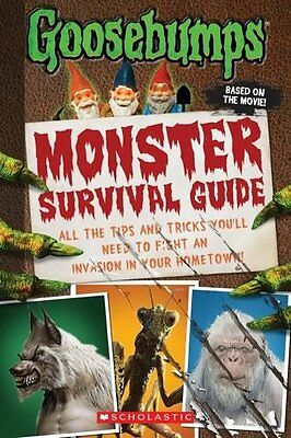 Goosebumps The Movie: Monster Survival Guide by Susan Lurie