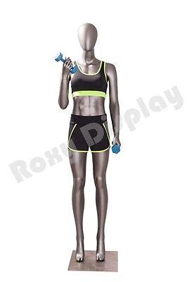 Female Fiberglass Egghead Athletic Style Mannequin Dress Form Display Mc-jsw02