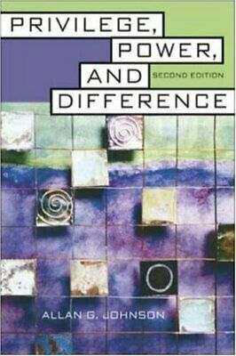 Privilege, Power, and Difference by Johnson, Allan Book The Fast Free Shipping