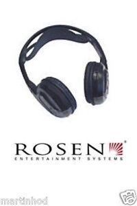 ROSEN AC3614 SINGLE CHANNEL WIRELESS FOLDABLE INFRARED HEADPHONES