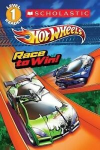 Hot Wheels: Race to Win! Scholastic Reader Level 1: by Ace Landers (Paperback)
