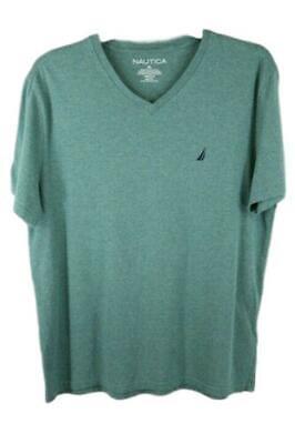 Nautica Mens Heather Green Short Sleeve Tee T-Shirt Size XL NEW