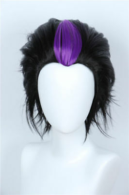 For Cosplay Homestuck Eridan Ampora Black Layered Wig Cosplay Halloween Costume](Homestuck Halloween)