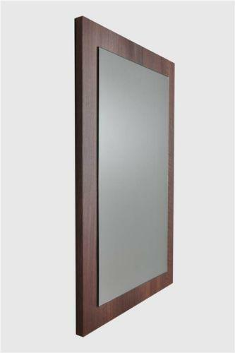 walnut bathroom mirror ebay