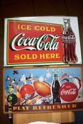 Coca Cola Schild