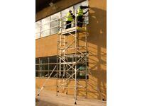 Youngman BOSS Aluminium Scaffold Towers -1.8 x 0.85m 6.2m High