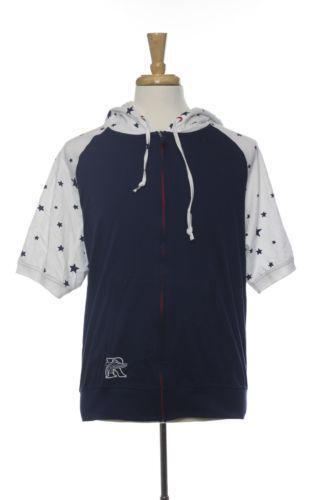Mens Short Sleeve Hoodie | eBay