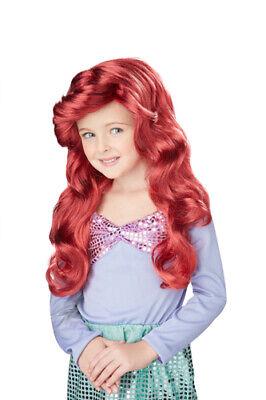 Redhead Little Mermaid Wig