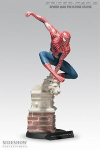 SIDESHOW SPIDERMAN 3 RED/BLUE SUITED SPIDERMAN STATUE