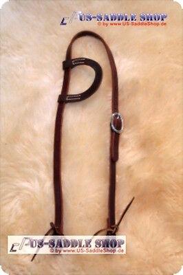 ANGEBOT! Schutz Brothers Einohr-Kopfstück aus Latigo-Leder, CP-AB035, UVP 44,90€