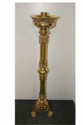 Church candlesticks collectibles ebay for Used candle holders