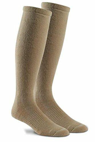 Fox River Military Wick Dry Maximum Mid Calf Boot Sock (Medium, Sand)