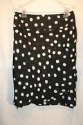 Plus Size Polka Dot Skirt